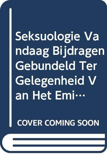 9789042911451: Seksuologie vandaag Bijdragen gebundeld ter gelegenheid van het emiritaat van Prof. dr. med. Piet Nijs