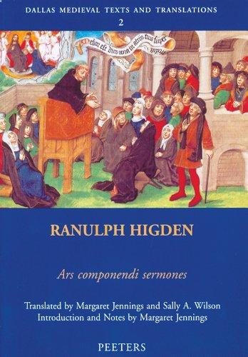 Ranulph Higden, Ars componendi sermones (Dallas Medieval: Jennings, M, Wilson,