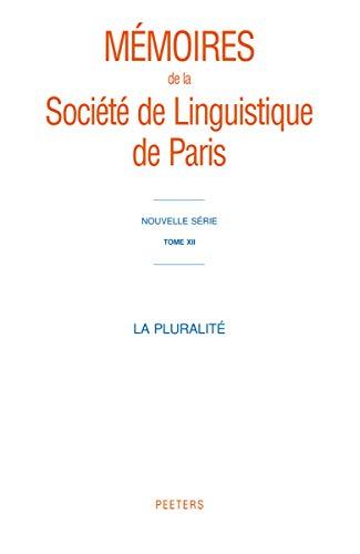 La pluralité: Fran�ois, J.