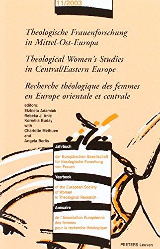 Theologische Frauenforschung in Mittel - Ost - Europa E Adamiak Editor