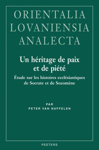 Un héritage de paix et de piété: Van Nuffelen P.,