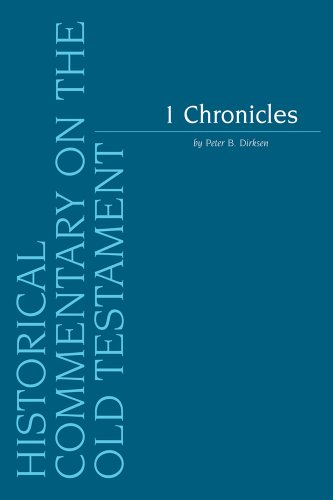 1 Chronicles: Dirksen P.B.,