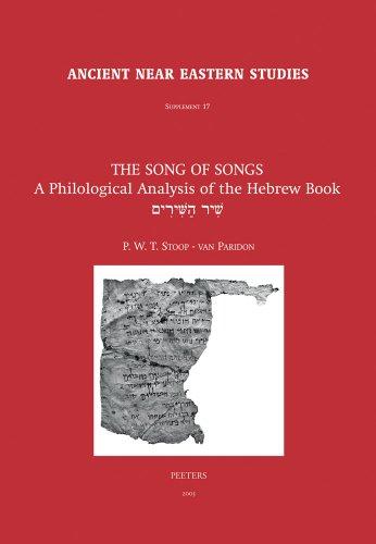 The Song of Songs: Stoop-van Paridon P.W.T.,