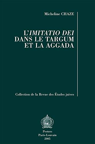 9789042916777: L'imitatio Dei Dans Le Targum Et La Aggada