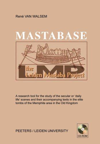 9789042918269: MastaBase: Digitalized Database of Iconography Programmes of Elite Graves in the Memphite Area of the Old Kingdom