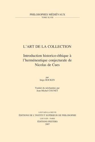 L'Art de la Collection: Bocken I.,