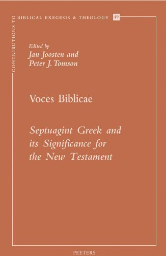 Voces Biblicae: Septuagint Greek and Its Significance for the New Testament (Paperback)