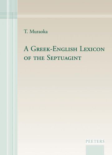 9789042922488: A Greek-English Lexicon of the Septuagint