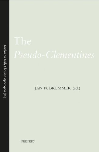 The Pseudo-Clementines: Bremmer J.N.,