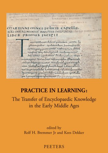 9789042922884: Practice in Learning: The Transfer of Encyclopaedic Knowledge in the Early Middle Ages (Mediaevalia Groningana New Series)
