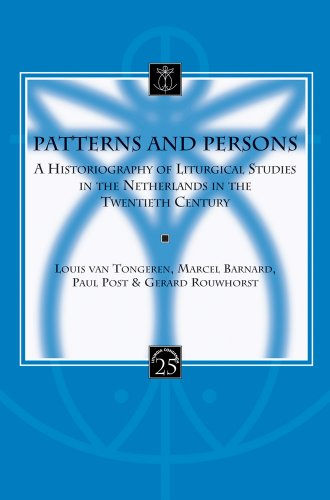Patterns and Persons: van Tongeren L., Barnard M., Post P., Rouwhorst G.,