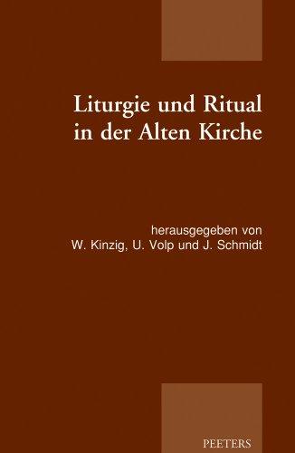 9789042924611: GER-LITURGIE UND RITUAL IN DER (Patristic Studies)
