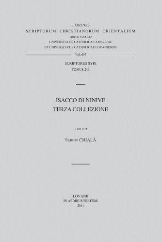 Isacco di Ninive. Terza Collezione: Chialà S.,