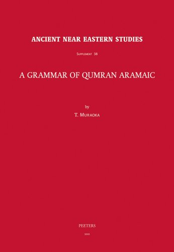 9789042925595: A Grammar of Qumran Aramaic (Ancient Near Eastern Studies Supplement Series)