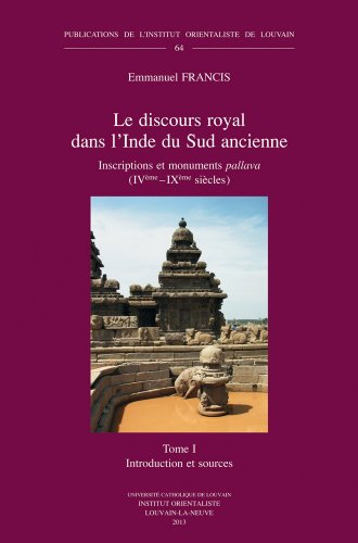 Le Discours Royal Dans L'Inde Du Sud: Francis, E