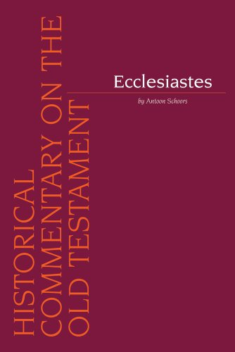 9789042929401: Ecclesiastes (Historical Commentary on the Old Testament)