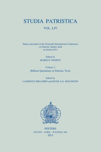9789042929876: Studia Patristica. Vol. LIV - Papers presented at he Sixteenth International Conference on Patristic Studies held in Oxford 2011: Volume 2: Biblical Quotations in Patristic Texts