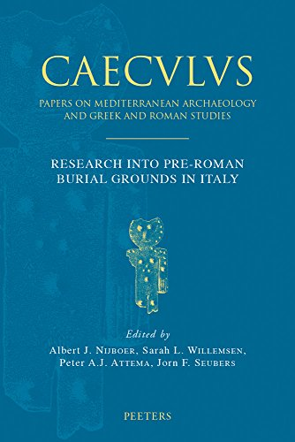9789042930094: Research Into Pre-Roman Burial Grounds in Italy (Caeculus. Papers on Mediterranean Archaeology and Greek Roma)