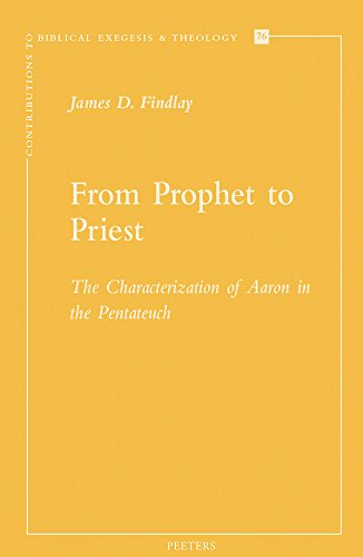 9789042930940: FROM PROPHET TO PRIEST (Contributions to Biblical Exegesis & Theology)