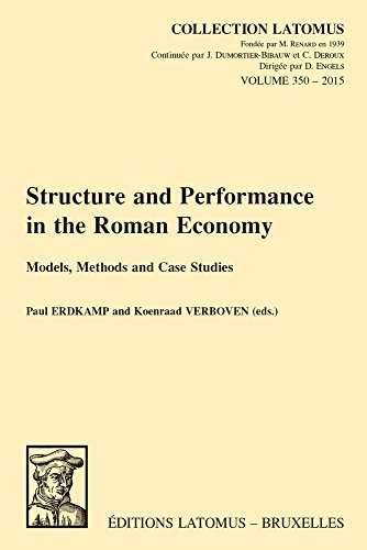 9789042932807: Structure and Performance in the Roman Economy: Models, Methods and Case Studies (Collection Latomus)