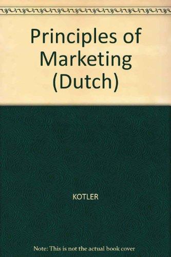 9789043006507: Principles of Marketing (Dutch)