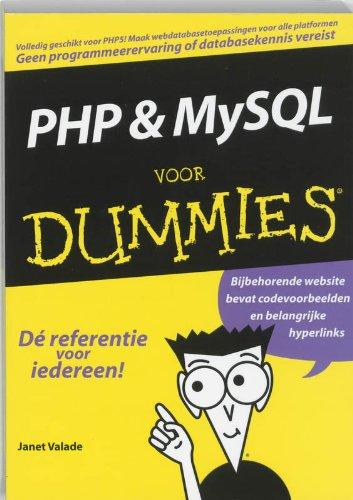 9789043009614: PHP en MySQL voor dummies
