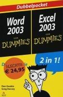 9789043013192: Microsoft Word 2003 voor dummies / Dan Gookin. Microsoft Exel 2003 voor dummies / Greg Harvey
