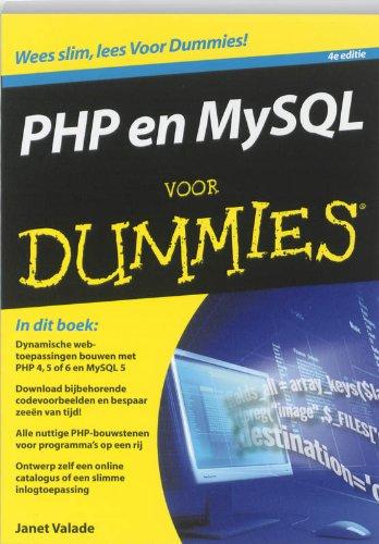 9789043020534: PHP en MySQL voor Dummies