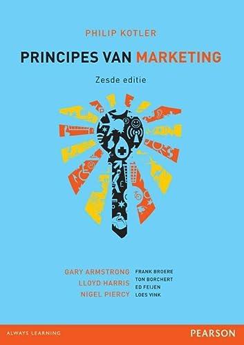 Principes van marketing: Kotler, Philip, Armstrong,