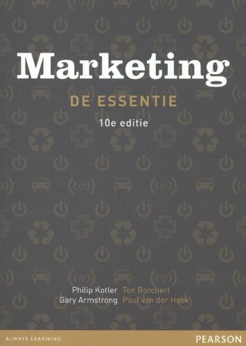 Marketing, de essentie, 10e editie met MyLab: Philip Kotler; Gary