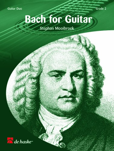 9789043101240: Bach for Guitar