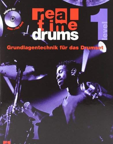 9789043102926: Real Time Drums 1 (D) - Drums - BOOK+CD