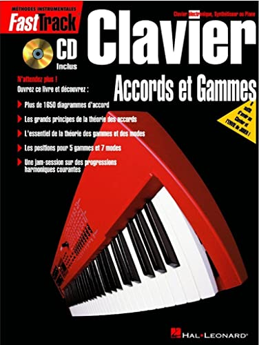 Fasttrack - Clavier Accords et Gammes: Divers Auteurs