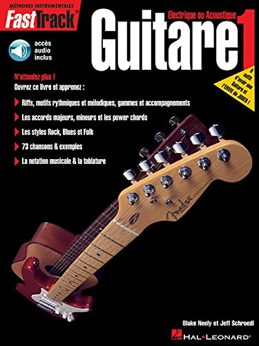 9789043103589: FASTTRACK FRENCH GUITAR METHOD BOOK 1 BK/CD (French Edition)