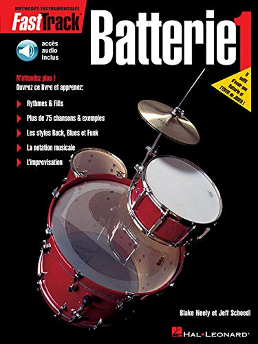 9789043103725: FastTrack Drum Method - Book 1 - French Edition
