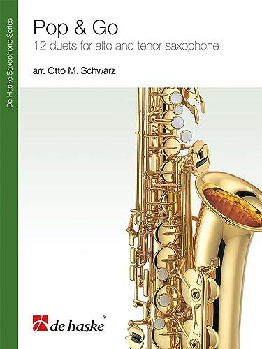 Pop and go : 12 Duette für Alt-und Tenorsaxophon