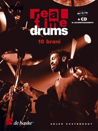 9789043104289: Real Time Drums 10 Brani It