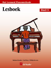 Hal Leonard Pianomethode vol.5 - lesboek :voor: Barbara Kreader