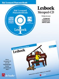 MEESPEEL CD - Hal Leonard pianomethode lesboek: Keveren, Phillip