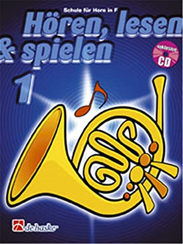 9789043105880: Horen, Lesen & Spielen 1 Horn in F Cor +CD