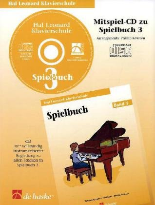 9789043106894: Hal Leonard Klavierschule Spielbuch 03 (CD)
