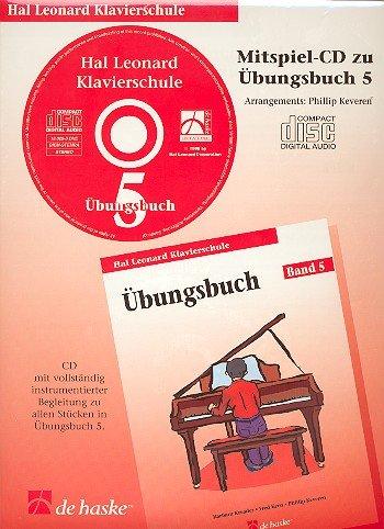 Hal Leonard Klavierschule Übungsbuch 05 (CD): Hal Leonard
