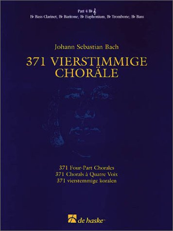 9789043108010: 371 vierstimmige chorale ( 4 bb tc ) musique d'ensemble
