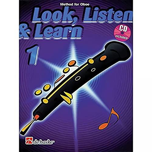 9789043108713: Look, Listen & Learn 1 Oboe Hautbois +CD