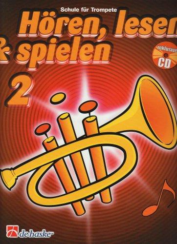 9789043109130: Horen, Lesen & Spielen 2 Trompete Trompette +CD