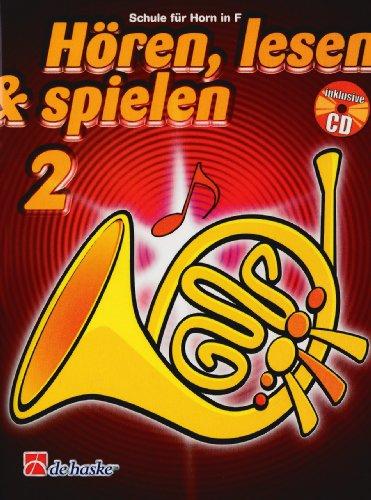 9789043109178: Horen, Lesen & Spielen 2 Horn in F Cor +CD