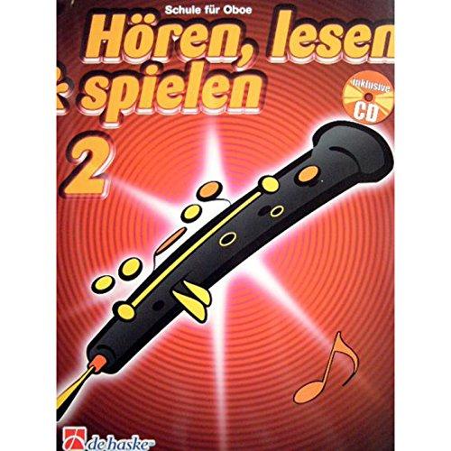 9789043109185: Horen, Lesen & Spielen 2 Oboe Hautbois +CD