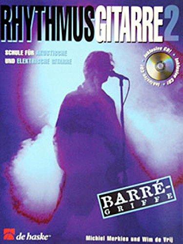 Rhythmusgitarre Band 2 (+CD) : Schulefür akustische und elektrische Gitarre: Michiel Merkies