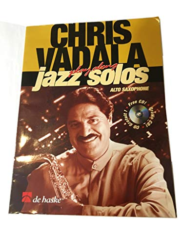 9789043110167: Chris Vadala - Play Along Jazz Solos: Book/CD Pack (De Haske Play-Along Book)