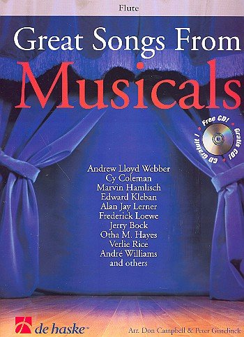 9789043110693: Great Songs from Musicals Flûte Traversiere +CD
